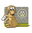 Dog at the doctor vector | Price: 3 Credits (USD $3)