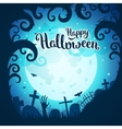 Halloween poster and card vector image vector image