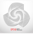 paper 3d design sacral geometry mystery shape vector image vector image