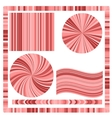 Pink Frame and Circles vector image vector image