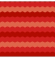 Red waves background seamless wave pattern vector image vector image