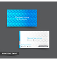 Business Card template set 046 vector image vector image