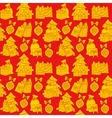 Christmas seamless pattern Wrapping paper vector image vector image