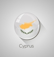 European flags set - Cyprus vector image