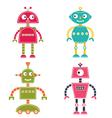 robots set vector image vector image