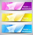Website or Banner Background Header vector image