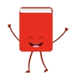 book character cute icon vector image