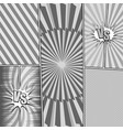 comic monochrome light concept vector image vector image
