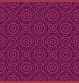 purple flower seamless pattern background vector image