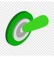 switch on isometric icon vector image
