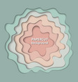 background with pastel nude beige and light green vector image vector image