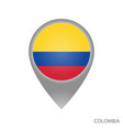 colombia point vector image