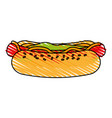 delicious fast food icon imag vector image vector image