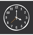 Hand Drawn Clock vector image vector image