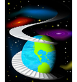 Planet vector image vector image