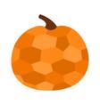 pumpkin crystal in geometric mosaic style happy vector image vector image