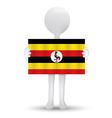 Republic of Uganda vector image vector image