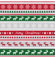 Seamless Christmas background2 vector image