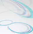 Web circular banner - transparent background vector image