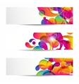 Abstract web banners vector image vector image