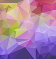Abtract colorful geometrical background vector image vector image