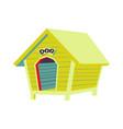 flat icon pet shop vector image vector image
