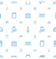 label icons pattern seamless white background vector image vector image