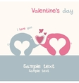 lovers of elephants vector image vector image