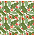 Seamless Pattern Tropical Palm Leaves Background