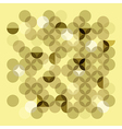 Transparent circles vector image vector image