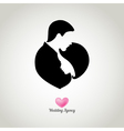 Weding agency logo vector image