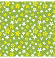 wild flowers pattern vector image vector image