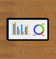 graphic and chart vector image