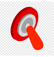 switch off isometric icon vector image