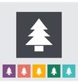 Conifer vector image