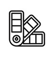pantone colors icon vector image