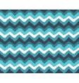 Sea Painted Zigzag Pattern vector image vector image