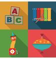 toy symbols vector image