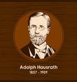 adolph hausrath vector image vector image