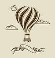 air balloon image vector image