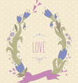 beautiful summer wreath vector image vector image
