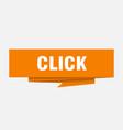 click vector image vector image