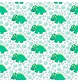 Dinosaur seamless pattern vector image vector image
