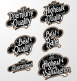 Grunge Decorative Text Label vector image vector image