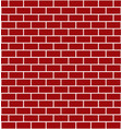 red brick wall - element for design for christmas vector image vector image
