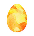 watercolor isolated egg vector image vector image