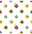 Wok pattern vector image vector image