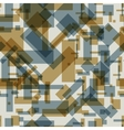 Seamless pattern with transparent rectangles vector image