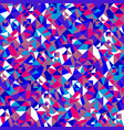 colorful seamless mosaic triangle pattern vector image vector image