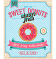 donut color vector image vector image
